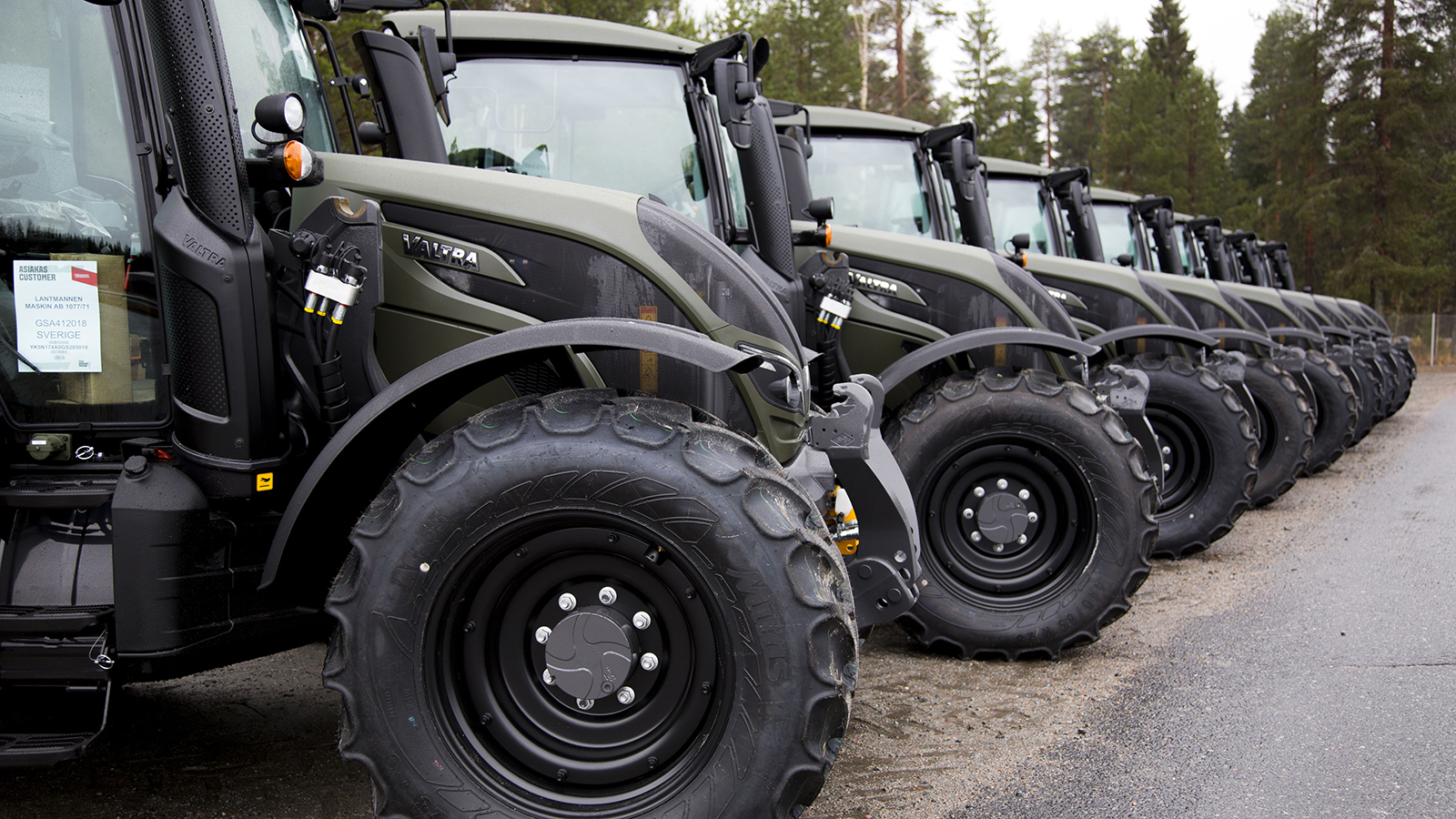 valtra unlimited military tractors custom made