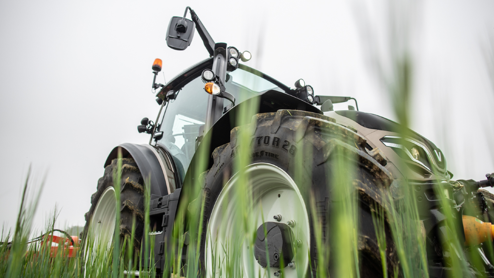 Valtra G Series tractor in the field