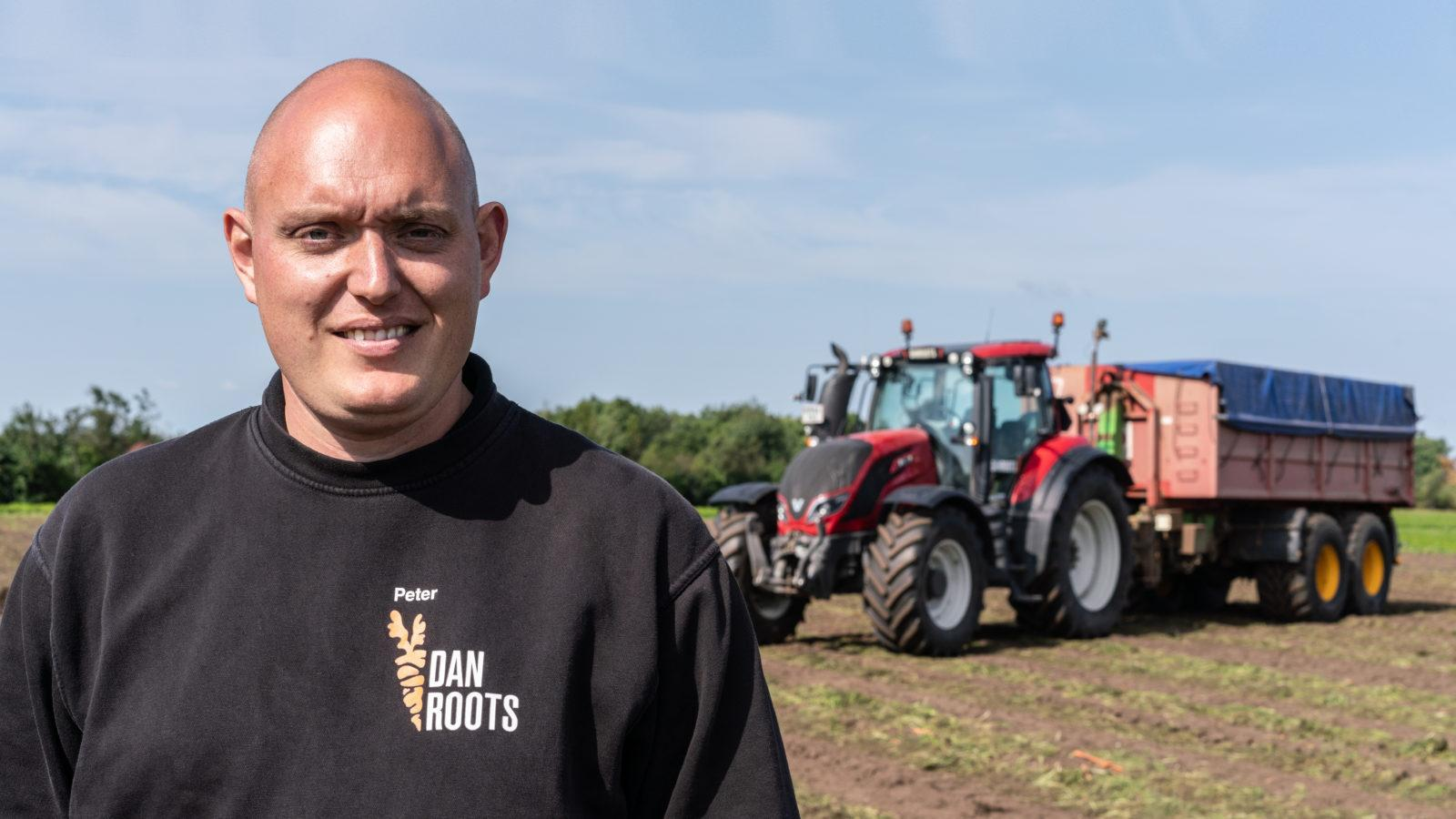 DanRoots uses 25 Valtra tractors to grow carrots
