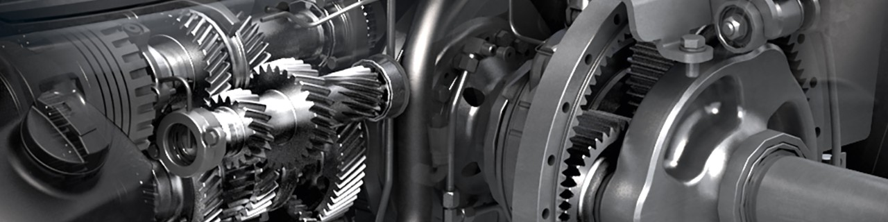 Valtra transmission closeup